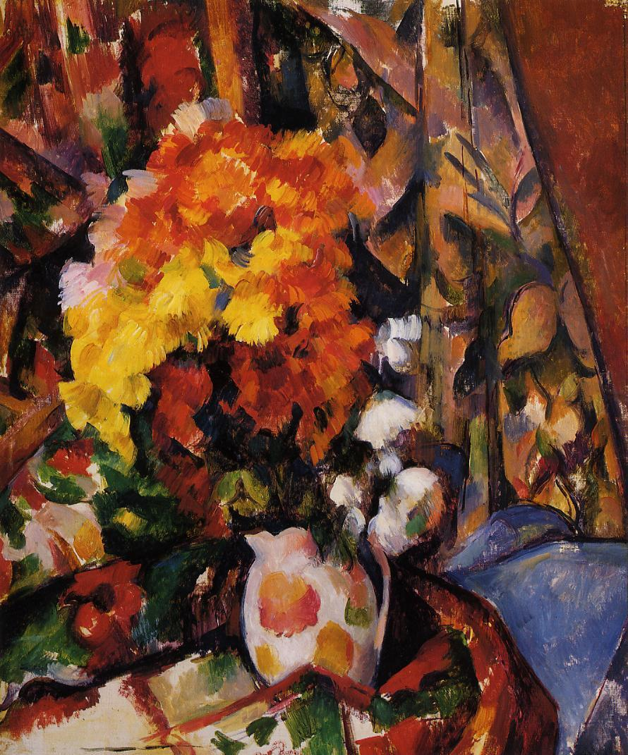 an analysis of still life with a curtain a post impressionistic painting by paul cezanne In distinction from the impressionists who very seldom painted still lifes, paul cezanne worked a lot in this genre, but in his work he was guided by principles st petersburg is often described as the most westernized city of russia, as well as its cultural capitalit is the northernmost city in the world with a.